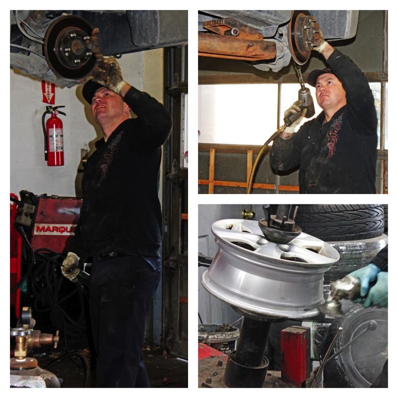 Locke Street Tire Service Collage 1